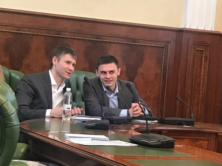 Andrii Mashchenko (on the left) - image